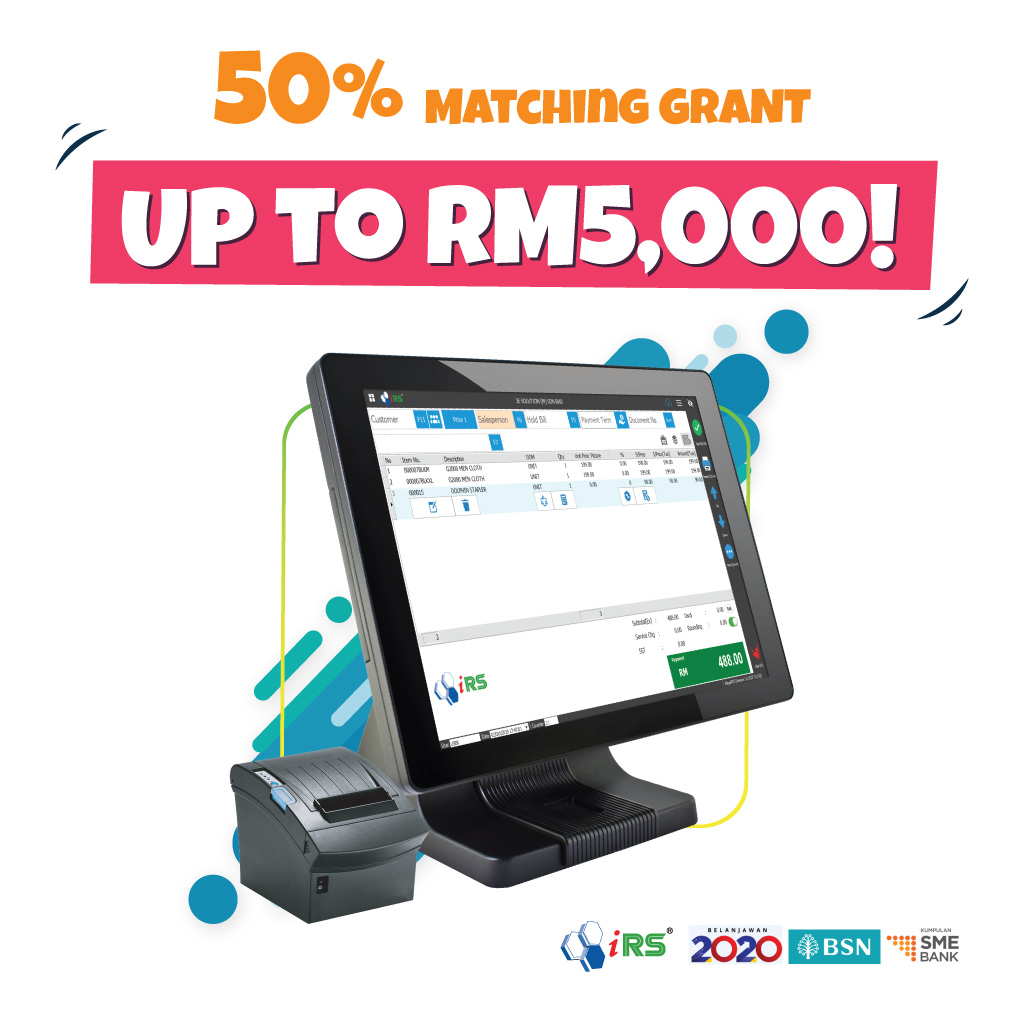 Matching Grant RM5000 Budget 2020 Malaysia