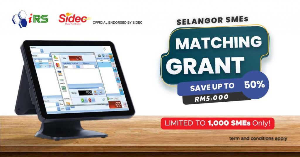 IRS POS System with Selangor SIDEC Matching Grant Worth RM5 Million